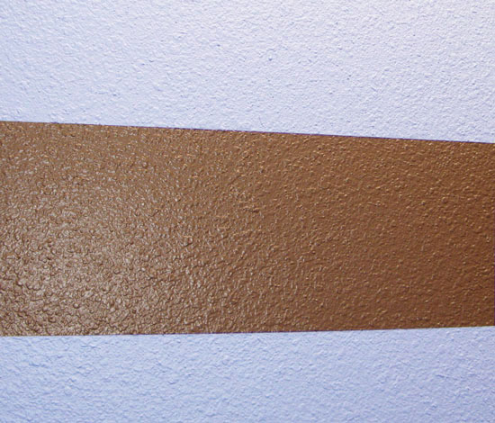How to get perfect paint lines on textured walls every for Painting lines on walls